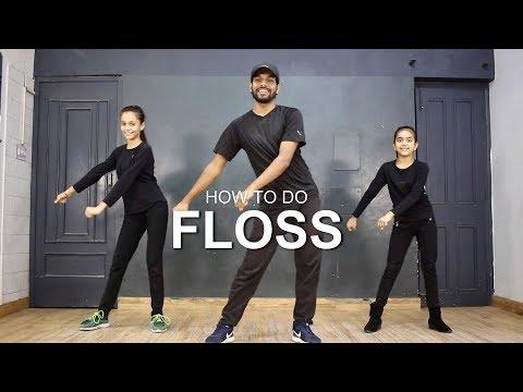How to Do The Backpack Kid Dance (THE FLOSS) | Deepak Tulsyan Dance Tutorial - Ржачные видео приколы