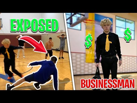 Businessman EXPOSES Hoopers! 1v1 Basketball At LA Fitness!