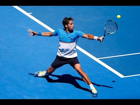 Feliciano Lopez vs Jerzy Janowicz Highlights HD PART 2 Australian Open 2015