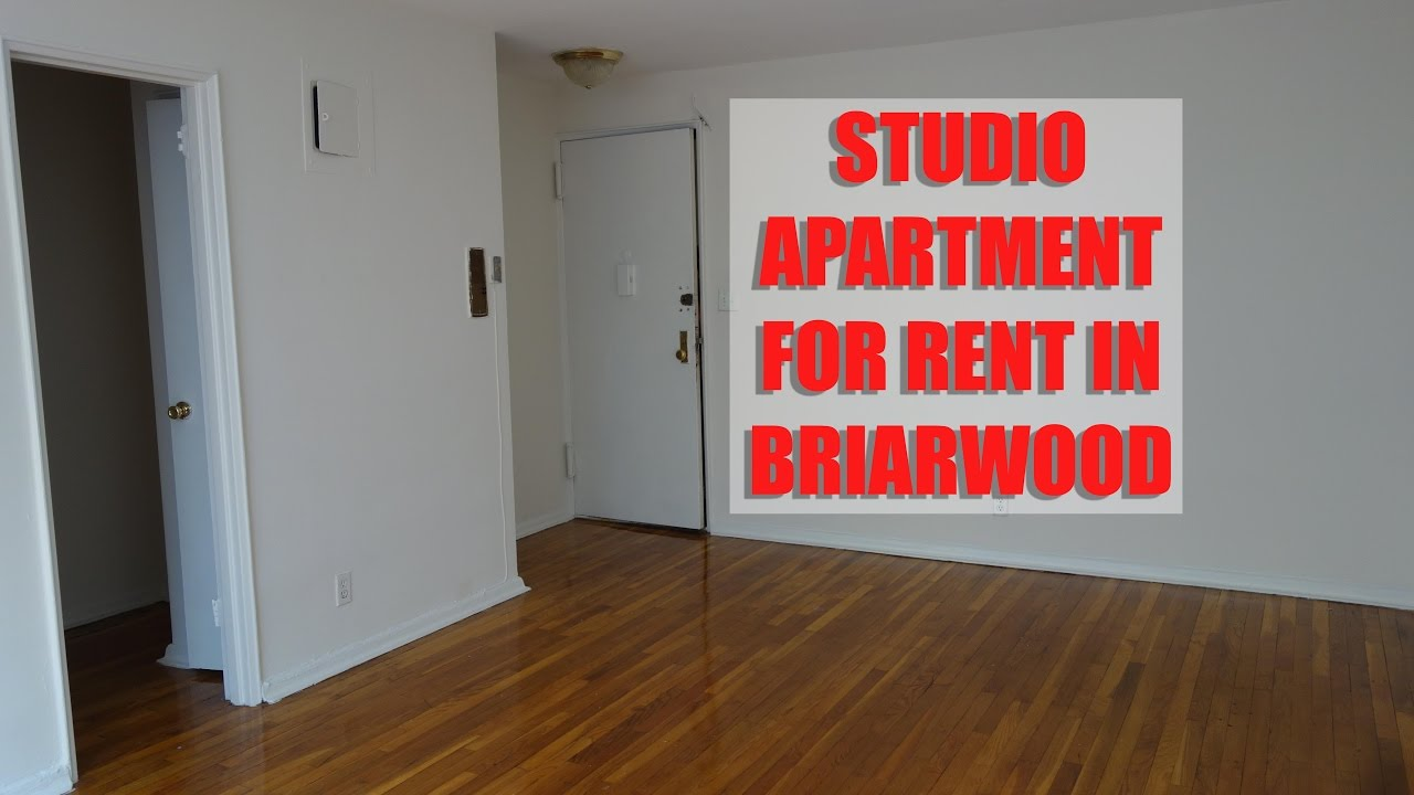 Studio apartment for rent in Briarwood, Queens, NYC - YouTube