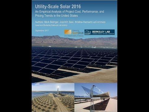 Utility Scale Solar 2016 webinar