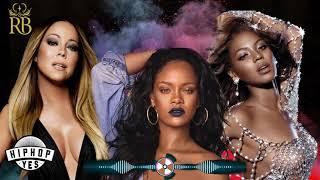 MIX HIP-HOP E R&B DAS MINAS!   Rihanna, Beyoncé, Mariah Carey E MUITO +