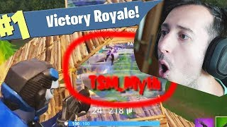 HO UCCISO TSM_MYTH IN FINALE E VITTORIA REALE !!! FORTNITE ITA GAMEPLAY