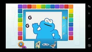 Elmo Loves ABCs Education Game For Kids GHI