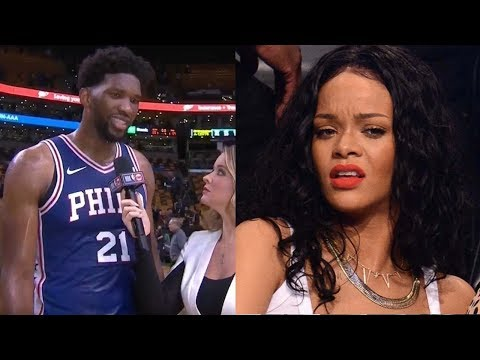 Download Youtube: Joel Embiid Straight DISSES Rihanna Now That He's an All Star
