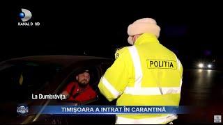Stirile Kanal D (08.03.2021) - BUCURESTI, IN SCENARIUL ROSU! TMISOARA A INTRAT IN CARANTINA!