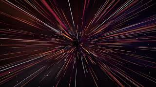 SPACE TRAVEL with SPEED OF LIGHT ANIMATION | Relaxing SCREENSAVER/ WALLPAPER
