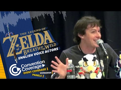 The Legend Of Zelda: Breath Of The Wild English Voice Actors (Sunday) [SacAnime Summer 2019]
