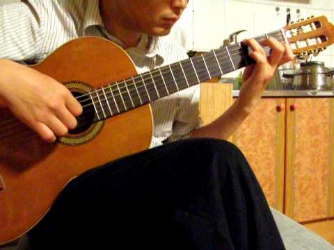 Say Anything - X Japan. classical guitar solo.