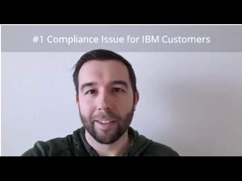 #1 Reason for IBM Non-Compliance