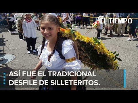 Desfile de Silleteritos llena las calles de color l EL TIEMPO thumbnail