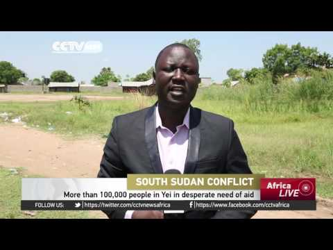 More than 100,000 people in desperate need of aid in Yei