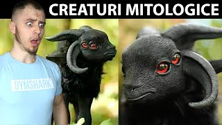 10 CREATURI MITOLOGICE CARE AU EXISTAT IN REALITATE