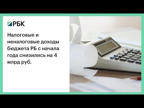 Налоговые и неналоговые доходы бюджета РБ с начала года снизились на 4 млрд руб.