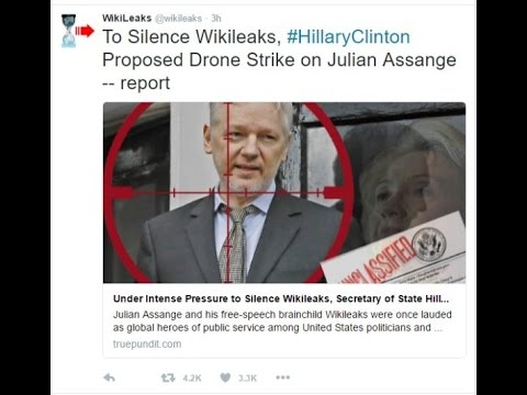 WikiLeaks Delivers Damning Evidence State Department never Intended to Prosecute HRC
