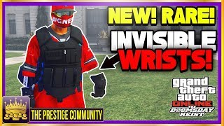 GTA 5 Character Glitches 1.44 *NEW* INVISIBLE WRIST MODDED OUTFIT GLITCH 1.42! (Invisible Body Part)