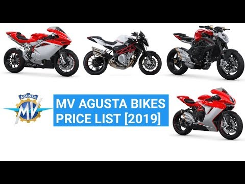 MV Agusta Bikes Price List In India [2019] | Review | Features | Minute