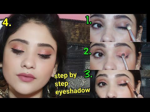 How : apply step by step eyeshadow || Beginner's guide || shystyles