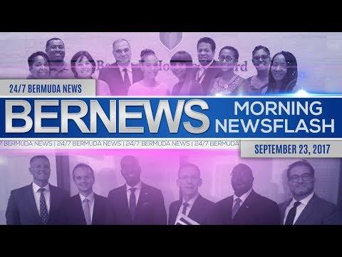 Bernews Morning Newsflash For Sat, September 23, 2017