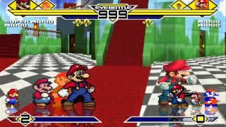 Mario's Party 4v4 Patch MUGEN 1.0 Battle!!!