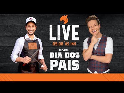 LIVE: Dia dos Pais com Michel Teló e Netão! - #LiveMontanaSteakHouse | #100
