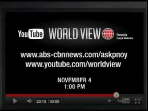 AskPNoy: YouTube Worldview interview with President Aquino