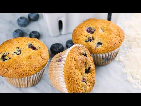 LIVE IT: Gluten-free Blueberry Muffins