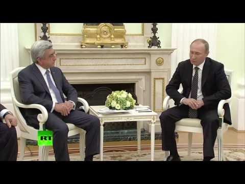 Владимир Путин встретился с президентом Армении