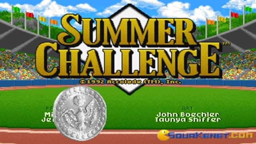 The Games  Summer Challenge gameplay  PC Game  1992    YouTube