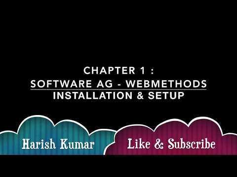 Chapter 1 Software Ag Webmethods Installation Of Trail Version And Setup Youtube