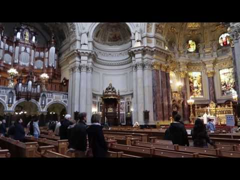SERVICE IN BERLIN CATHEDRAL!