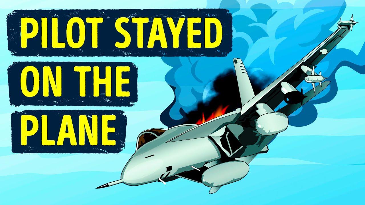 Ein Flugzeug verlor einen Flügel, aber der Pilot wollte an diesem Tag am Leben bleiben + video