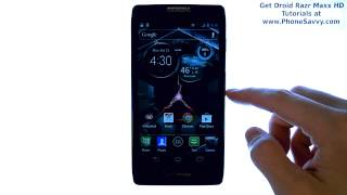 Motorola Droid Razr Maxx HD - How Do I Edit Ringtone Volume