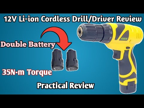 India's cheapest cordless drill with 35N-m torque