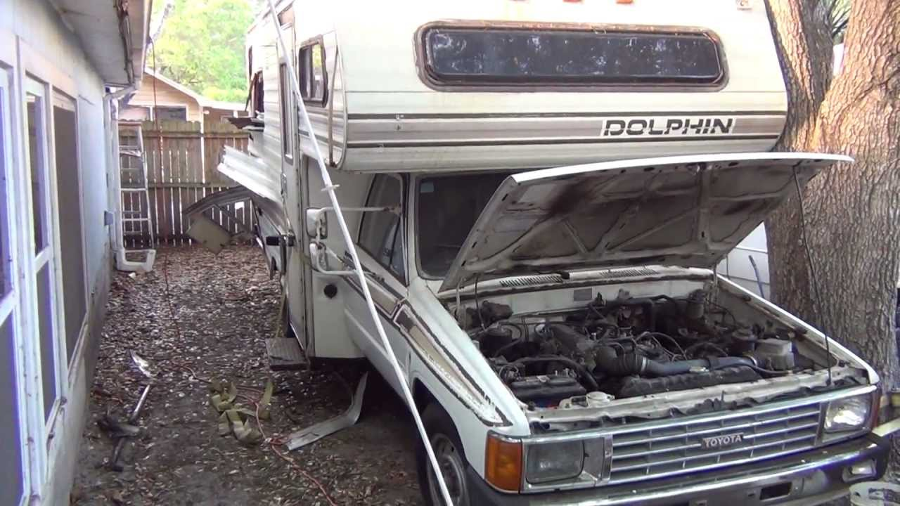 Toyota Dolphin Motorhome From Hell 40k Miles They Had