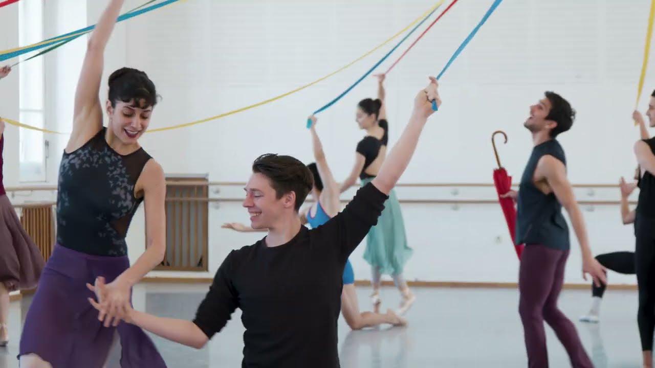 Wiener Staatsballett - La Fille mal gardée (Aus dem Ballettsaal)
