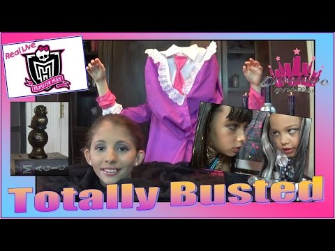Real Live Monster High | 'Totally Busted' - Creative Princess