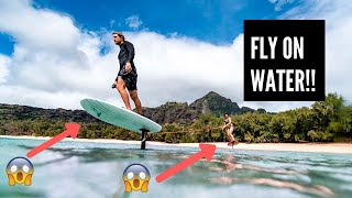 Surfboard that Can Actually Fly - LiftFoils eFoil Surfboard