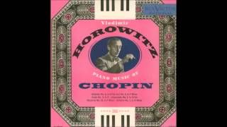 V. Horowitz - Scherzo No. 1 in B minor, Op. 20 (F. Chopin) [1951]