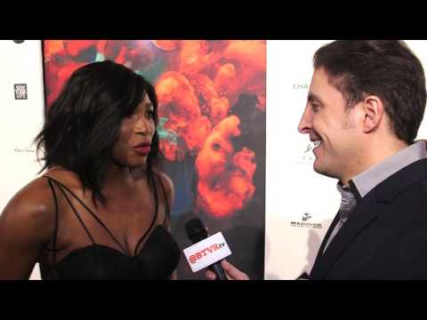 Serena Williams  at the Sports Illustrated Sportsperson of the Year Awards with Arthur Kade