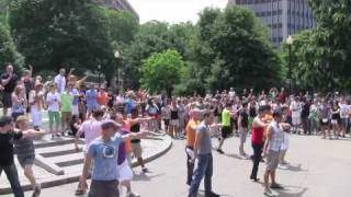Flash Mob Mamma Mia Dupont Circle