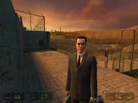 Half-Life 2 G-man Sightings