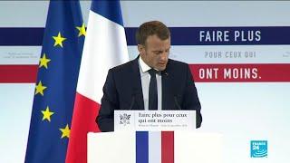 REPLAY - Emmanuel Macron présente son plan anti-pauvreté