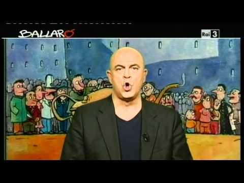 "Maurizio Crozza - ""Monti robot"" - Ballarò 15/11/2011"
