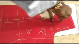 Repeat youtube video How to Cut Bridal Salwar Kameez/Simple way of Shalwar Kameej Cutting