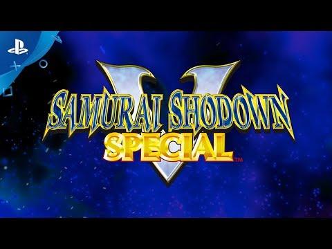 SAMURAI SHODOWN V SPECIAL - TEASER | PS4