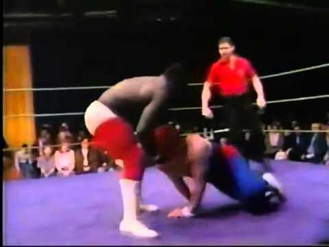 Koko Ware absolutely destroys a jobber on Memphis TV circa 1985