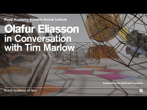 Olafur Eliasson in Conversation with Tim Marlow