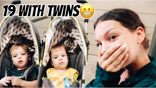 A weekend in the life of a teen mom w/ twins l teen mom vlog