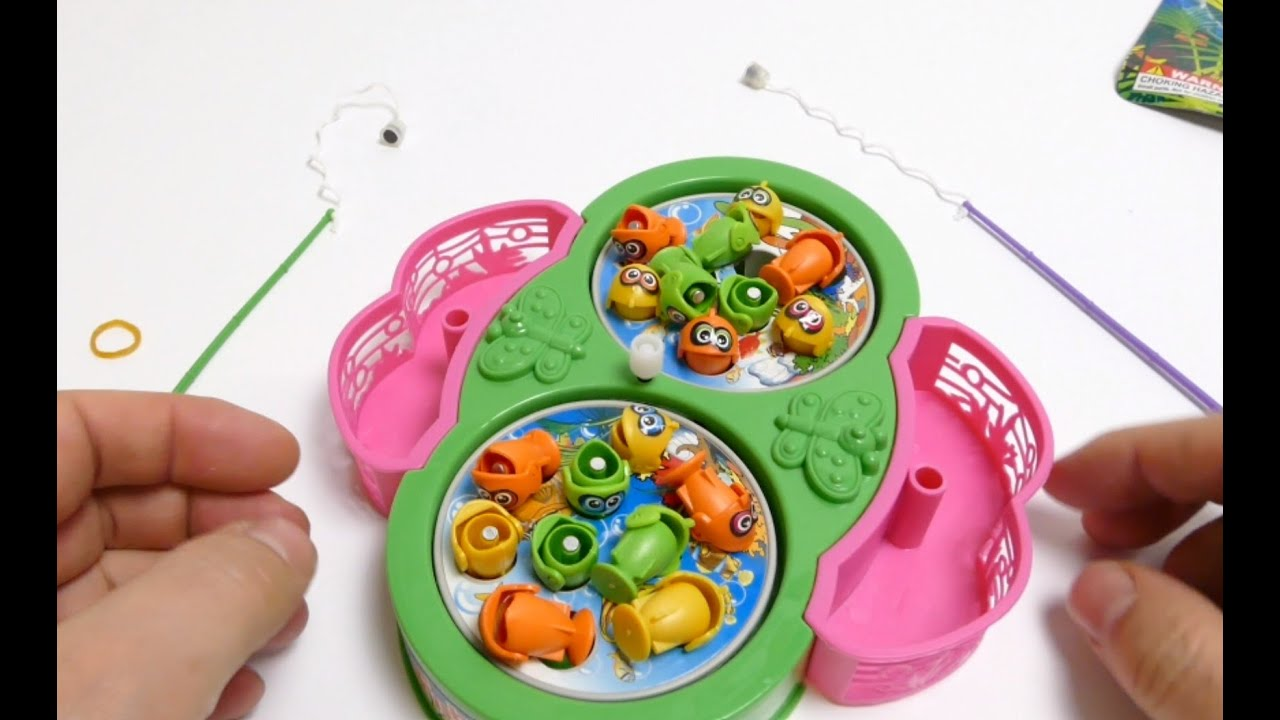Fish Game Toy : Fishing game toy floating fish youtube